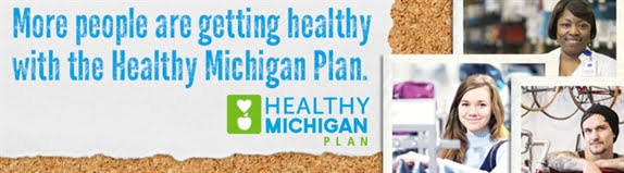 More people are getting healthy with the Healthy Michigan Plan.